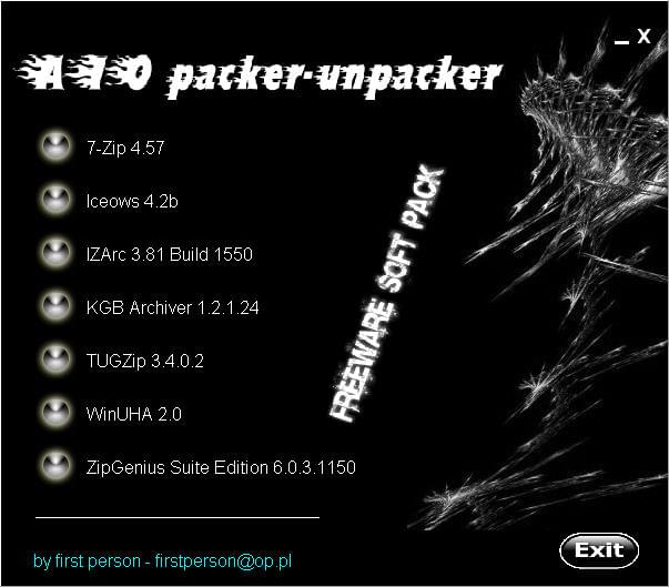 AIO packer   unpacker [by first person] [ iso] [ preview 0