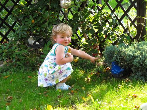 #rodzina #dzieci #wnuczka #ogród #wiosna