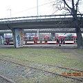 Gdańsk - 10 na ul. Marynarki Polskiej widziane z pętli Kliniczna #tramwaj #pętla #Kliniczna #Gdańsk #ZKMGdańsk
