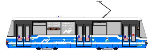 Konstal 105WrN MPK Wrocław - Fikcyjna modernizacja 105-ki.