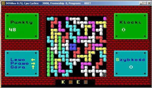 Kret - screen z gry