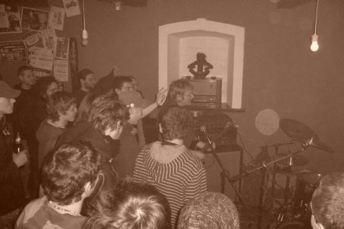 Koncert w Nocturamie - Chaos Party - S.A.T.A.N. , KRAP NEK - 16.04.2008 #KRAPNEK #Koncert
