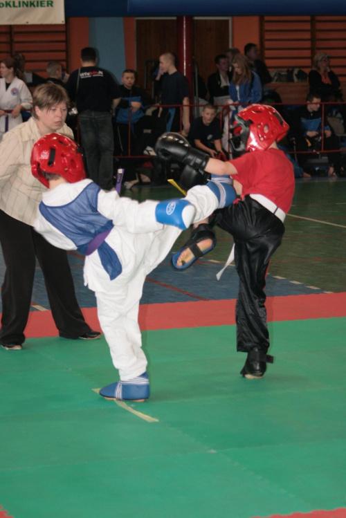 I Otwarte Mistrzostwa Polski Tang Soo Do - Puławy 2008 walki dzieci touch-contact (autor - Kamil Chłodny) #tsd #TangSooDo #Puławy #Sport #dzieci