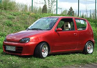 fiat seicento kompleksowy tuning tuning w oski. Black Bedroom Furniture Sets. Home Design Ideas