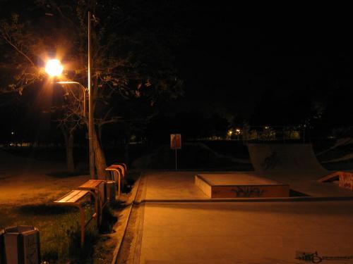 skatepark nocą #skatepark #noc