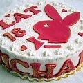 18,michał,króliczek #króliczek #tort #playboy