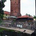brodnica #wieza #kajak #plynac #rzeka #mury #pojezierze #zabytek #brodnica