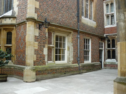 zaulki zamku Tudorow #Hampton #Londyn #Tudor