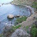 Cypr,Akamas #Cypr #morze #skała #zatoka #klif