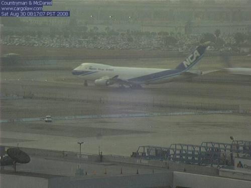 B747 NCA #samolot #kamera #lotnisko