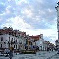 Kamieniczki przy Rynku #Sandomierz #Polska #Rynek #kamienice #Ratusz #renesansans #kotwica #studnia
