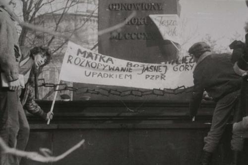 Lubli, Święto Niepodległości 1980 r.