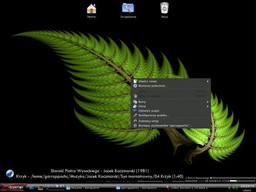 Mandriva Linux +compiz-fusion +emerald #LiunxScreeny