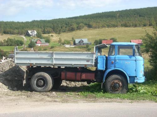 Skoda R z napędem na dwie osie #ciężarówka #Skoda #papuga