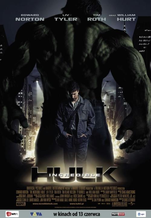 Niesamowity Hulk / The Incredible Hulk (2008) PL.720p.BDRip.XviD.AC3-ELiTE / LEKTOR PL