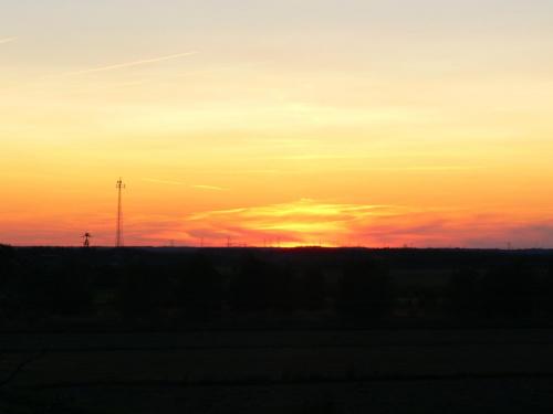 #ZachódSłońca #niebo