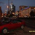 Widok na szczeciński wieżowiec PŻM wieczorem. #Szczecin #wieczór #wieżowiec