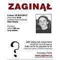 #ŁukaszSienkiewicz #PLAKATZITAKA #RudaŚląska #śląskie #AkcjaPlakat #apel #pomóż #MissingPerson