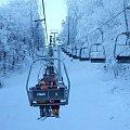 Puławy k/Rymanowa #Bieszczady #Kiczera #Lesko #narty #Puławy #śnieg #Weremień #wyciąg