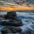 wschod 2 #chmury #ocean #poranek #przyroda #woda #WschódSłońca #Sydney