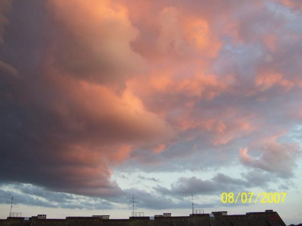 Zachód na chmurce #ChmuryChmurki