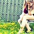 #dziewczyna #kobieta #piękno #kolor #kwiaty #malowanie