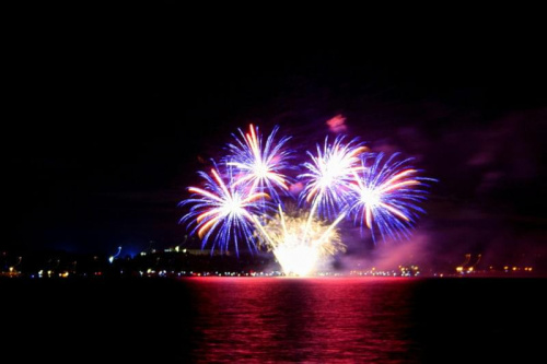 Festiwal ognia i wody nad jeziorem nyskim